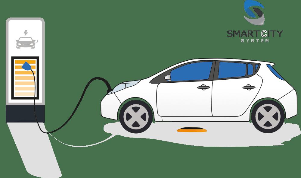 e-charger parking sensor
