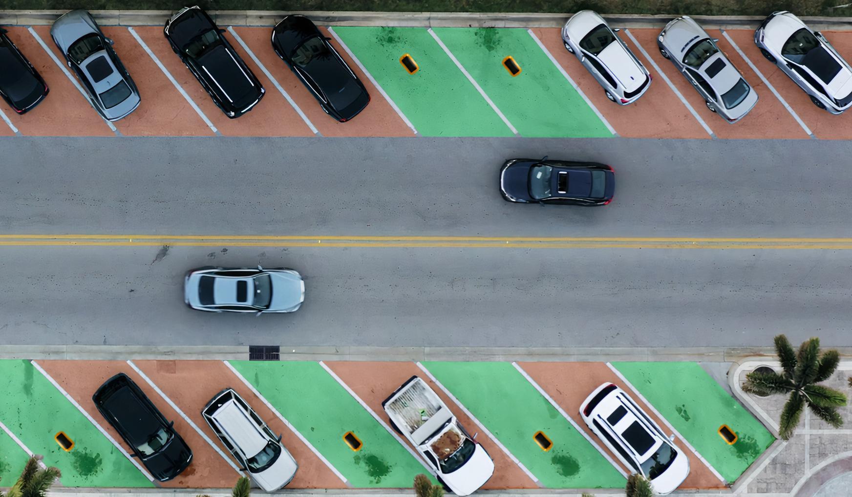 Smart parkensensoren
