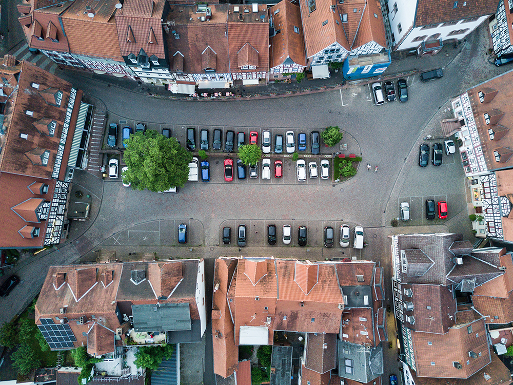 Stadt smart parking