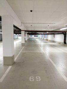 Indoor garage smart parking sensor